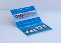 5x7 Linen Card Inside View