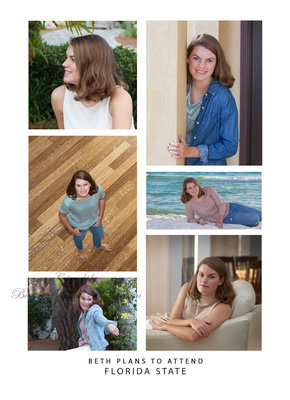 senior pictures at the beach invitations and cards