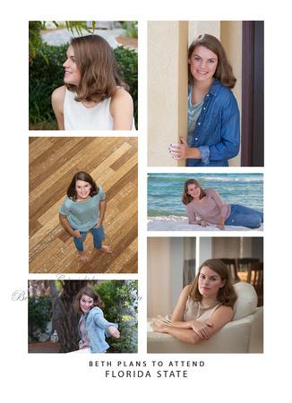 senior photo announcements