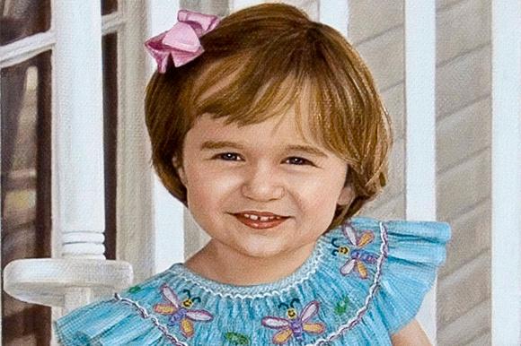 Florida oil portrait artist