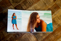 signature album designed with your family beach portraits! A family must have!