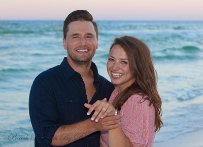 Say yes on the beach! Wedding Engagement photography