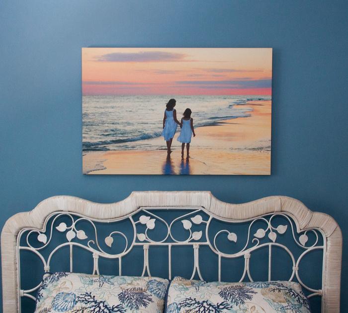 Bedroom Canvas Wall PortraitW