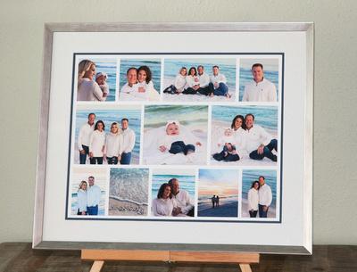 Framed Beach Collage Custom 2