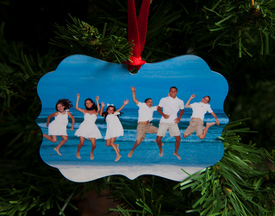 Two Sided Photo Ornaments