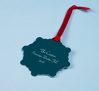 Personalized Photo Christmas Ornaments from you vacation
