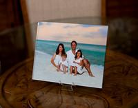 Acrylic Metallic 8x10 desk portrait size on easel