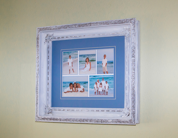 Popluar Beach Collage from Family Beach Portrait Sitting