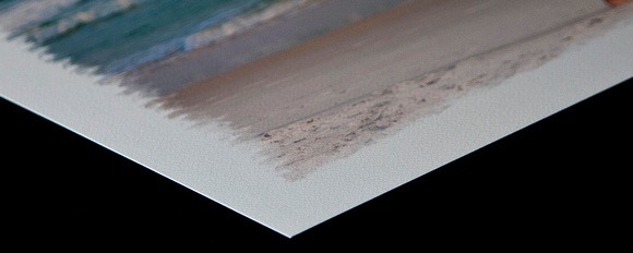 Fine art paper edge
