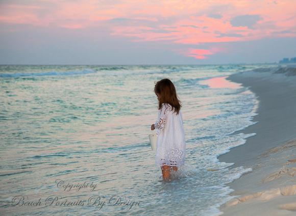 Sunset Pinks and Wonderful Dress