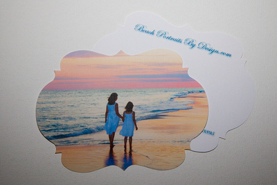 Photo Cards Die Cut Shapes