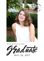 High School Senior Beach Pictures for Invitations and Thank You notes.